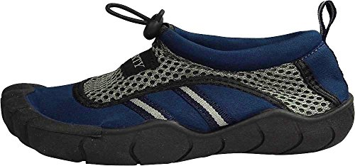 Norty Chaussures Skeletoe Aqua Wave Pour Homme - Running 1 Taille Small Navy