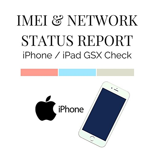 iPhone NETWORK LOCK STATUS GSX CHECK REPORT FAST SERVICE ALL IPHONE AND  IPADS