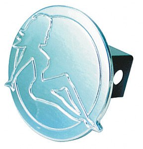 All Sales 1005 Trucker Girl Hitch Cover