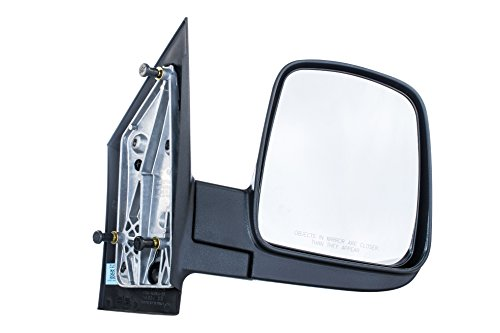 Right Passenger Side Door Mirror for Chevy Express GMC Savana Textured Non-Heated Manual Folding (2003 2004 2005 2006 2007 2008 2009 2010 2011 2012 2013 2014 2015 2016 2017)