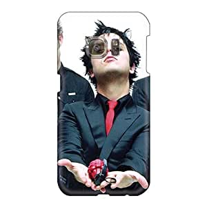 Shockproof Cell-phone Hard Covers For Samsung Galaxy S6 (bTp4154Geka) Support Personal Customs Lifelike Green Day Band Series