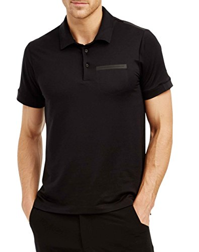 [YOGASMOGA Men's Montauk Polo: Made in USA (XXL, Carbon 6)] (Long Way Down T-shirt)