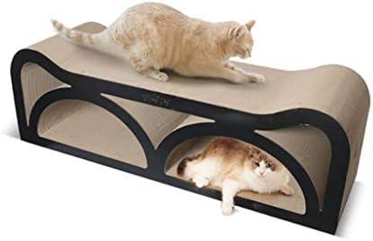 大型段ボール紙スクラッチボード、コーヒーショップ猫おもちゃ猫爪猫用品ソファ耐摩耗猫登山フレーム (Size : 23.6*101cm)