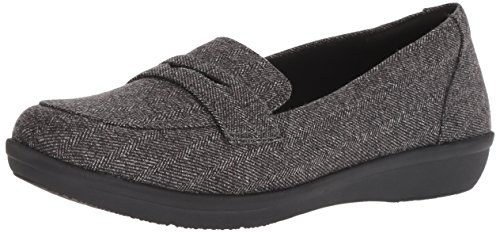 CLARKS Synthetic Ayla Form Women's Loafer Grey rn6HrqO