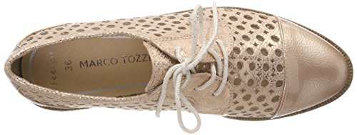 Marco Tozzi Comb Rosa 23502 Oxford Cordones De Para Met Mujer Zapatos rose ffrSqw