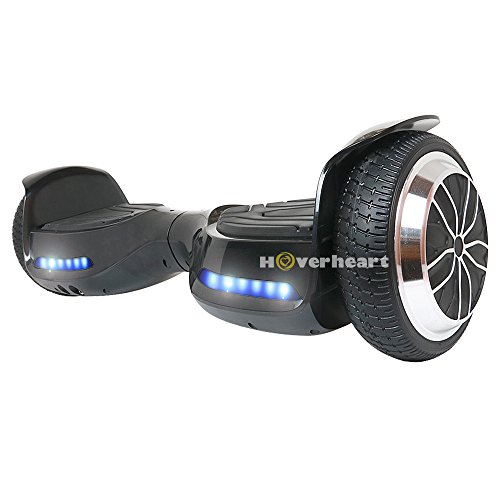 """Hoverboard 6.5"""" UL 2272 Listed Two-Wheel Self Balancing Electric Scooter with Bluetooth Speaker (Black)"""