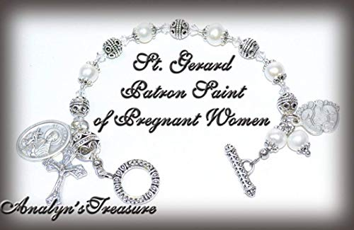 - Customize Your Own Rosary Bracelet, St. Agatha, Peregrine, Theresa, Teresa, Gerard, and More