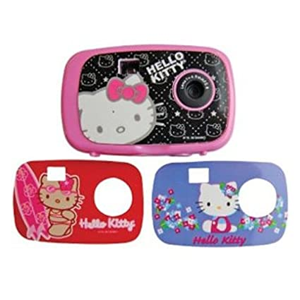 Hello Kitty Digital Camera with Changing Faceplates (Faceplate Designs May Vary) SAKAR