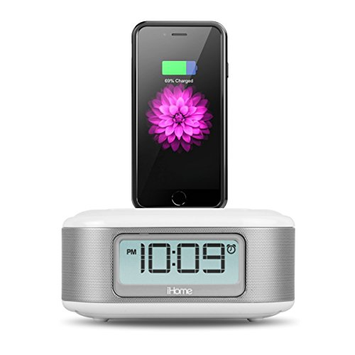 ihome for iphone 5 ihome ipl23 stereo fm clock radio with lightning dock 4486