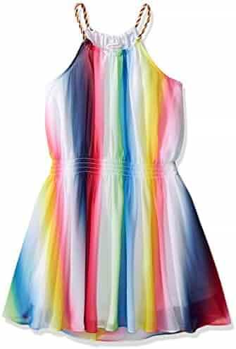 Ella Moss Girls' Slim Size Amber Sleveless Dress