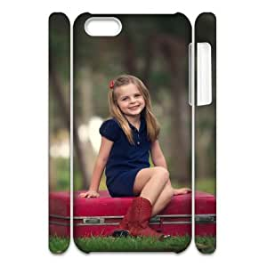 Iphone 5C Case, ready to travel 3D Case for Iphone 5C White