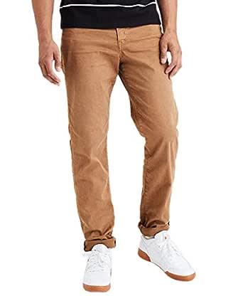 American Eagle Mens 3956269 Flex Slim Straight Jean, Tour Khaki (34x32)