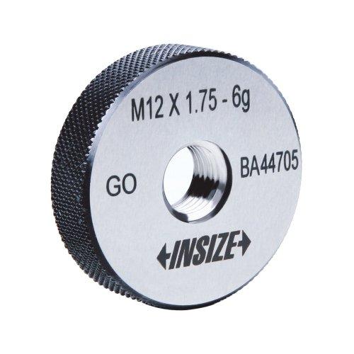 INSIZE 4631-8 Metric Thread Ring Gage, Go, 6 g, ISO1502, M8 x 1.25 INSIZE CO. LTD