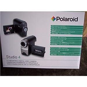 Polaroid Studio 4 3.2MP 12x Digital Zoom Digital Video Camera STUDIO4