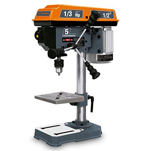 Truper TAPI-8, Taladro de banco 1/2' x 8', 1/3 HP potencia nominal