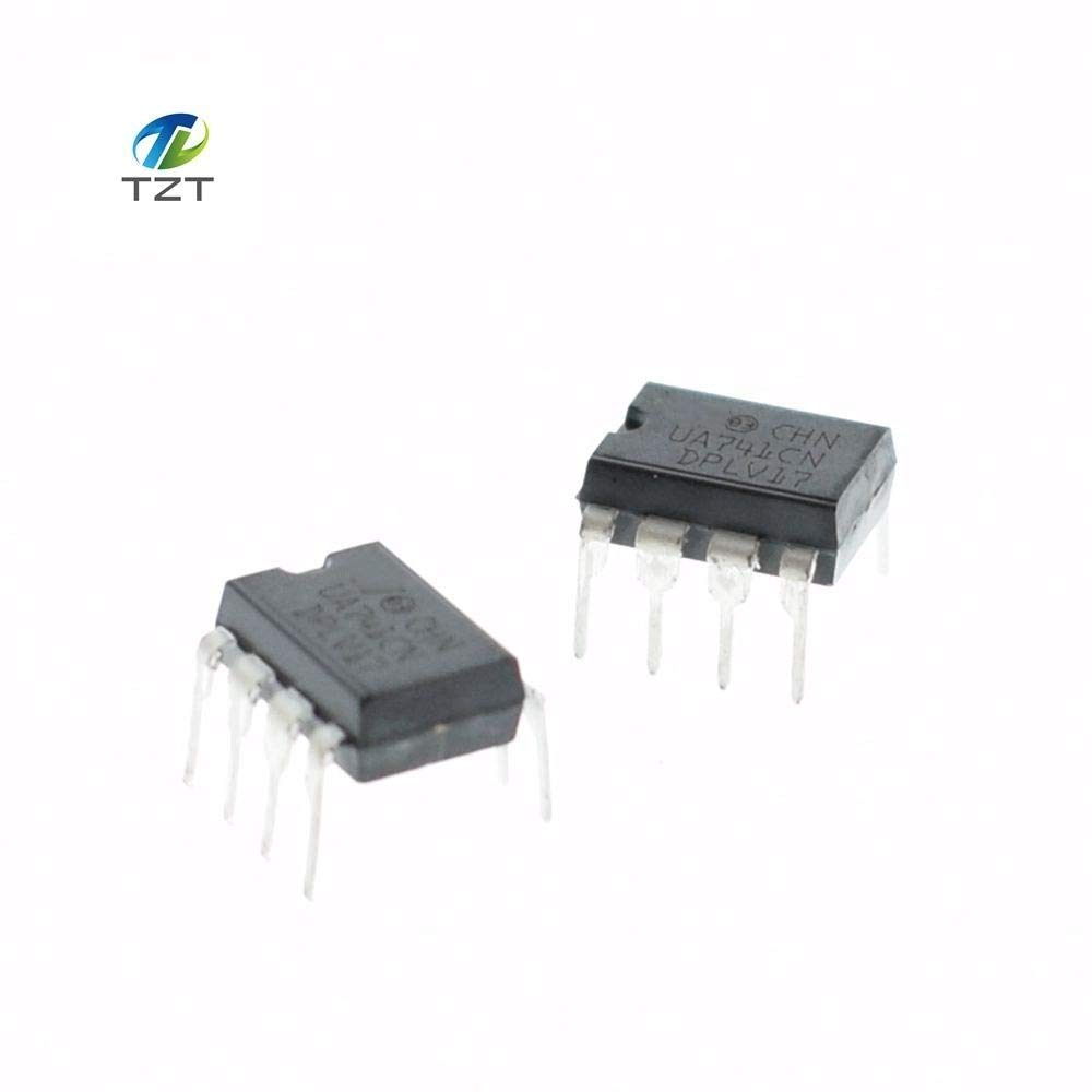 Stmicroelectronics Ua741cn Operational Amplifier Pack Of 10 Lm741 Circuits Connected To Digital Vehicle Fuses Industrial Scientific