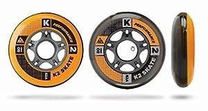 K2 Inline Rollenset mit Kugellagern Wheel 8-Pack/ILQ 7, 80mm, 3053010.1.1