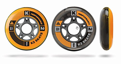 K2 Skate Wheel (Pack of 4), 100mm by K2 Skate