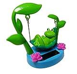 Solar Powered Swinging Frog