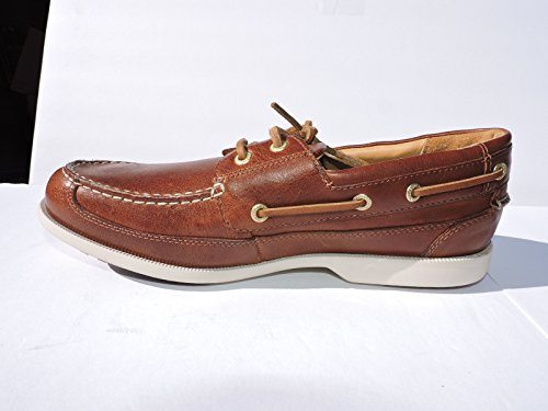 Rockport Mens Jeffrey Bay 2 Eye Leather Loafers Brown Size 8 M nkw3VWoU9M
