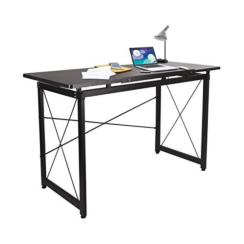 H&A 47''x 24'' Tiltable Drawing Desk Drafting Table Wood Surface Craft Station Versatile for Painting Writing Studying and Reading by H&A (Image #2)