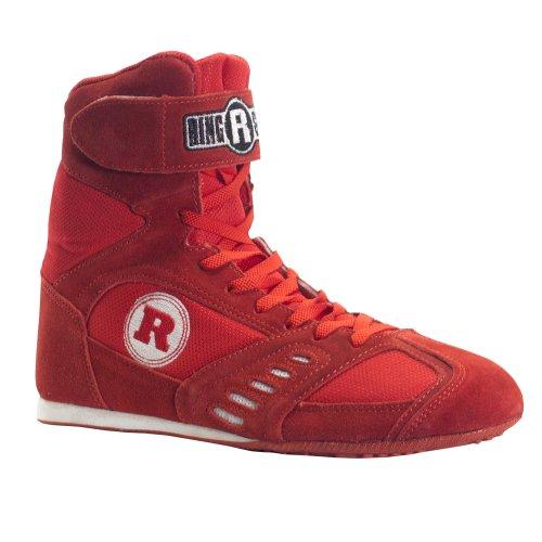 Scarpe Da Boxe Power Ring In Rosso