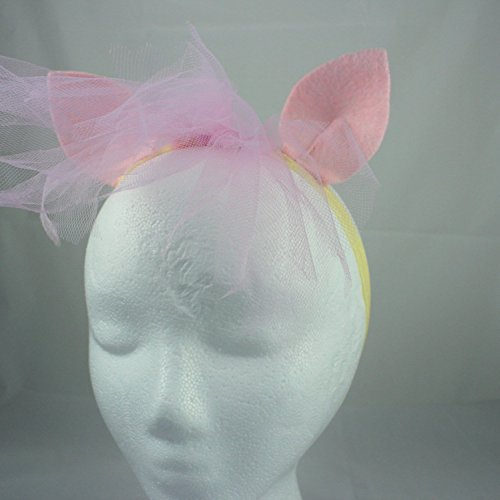 Pony Ears and Mane Headband - Fluttershy Pony Headband - Fluttershy Halloween Costume