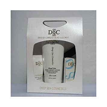 Amazon.com : Deep Sea Cosmetics Dead Sea Nail Treatment Kit (Horizon) : Hand And Nail Care Products : Beauty