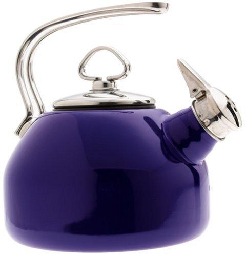 Chantal Enamel-On-Steel Classic Teakettle, Cobalt Blue by Chantal (Image #1)