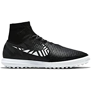 Nike Mens Magista Proximo Street Indoor Soccer Shoes 11 US, Black/Citrus/White