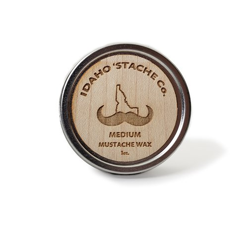 MUSTACHE WAX - MEDIUM HOLD by Idaho 'Stache Co.