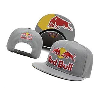 MUSE Red Bull Classic Logo Paragraph Hip Hop Gorra de béisbol Cap bboy Hip Hop Racing: Amazon.es: Deportes y aire libre