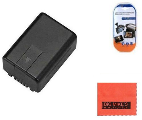 VW-VBK180 Battery for Panasonic HC-V10 H - V700 Camcorder Shopping Results