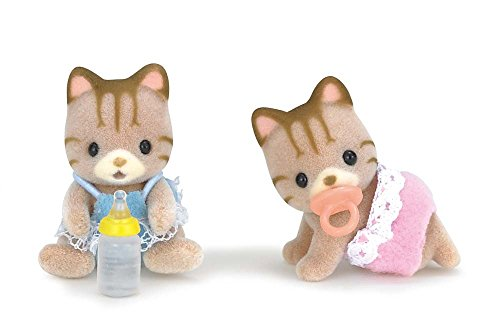 Calico Critters Sandy Cat Twins