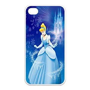 Mystic Zone Princess Cinderella iPhone 4 Case for iPhone 4/4S Cartoon Fits Case KEK0416