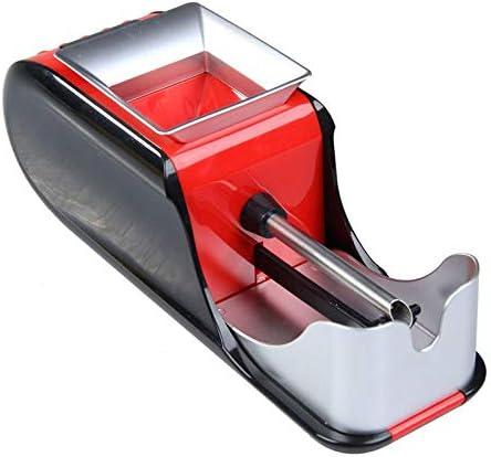 電動タバコラミネート機喫煙タバコパイプ自動インジェクターメーカーローラーDIY喫煙ツール使いやすい、2個、赤、アメリカプラグ