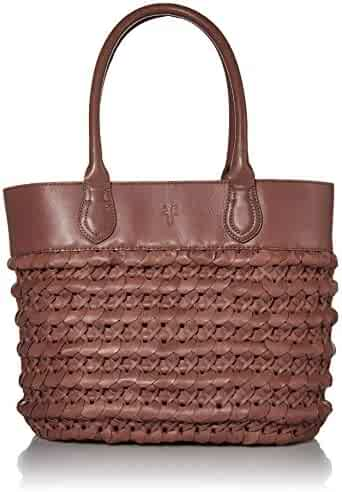 Frye Woven Dip Dye Leather Tote