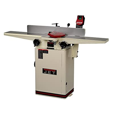JET - JJ-6HHDX 6-Inch Long Bed Helical Head Jointer by Jet
