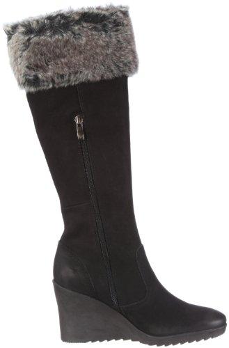 NUBUC Stiefel BLACK 25607 27 Caprice 9 9 Schwarz Damen qHX6a8Swx