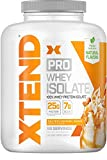 Scivation Xtend Pro, 100% Whey Protein Isolate Powder with BCAAs & Natural Flavors, Post Workout Recovery Drink, Gluten Free Low Carb Low Fat, Salted Caramel Shake, 5 lbs For Sale
