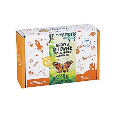 Fat Brain Toys Surprise Ride - Grow a Milkweed Tropical Asclepias Activity Kit Organic & Green Toys for Ages 6 to 11: Toys & Games