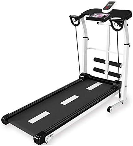 SMQHH Treadmills Cardio Training, Folding Treadmill Home Fitness Equipment 1