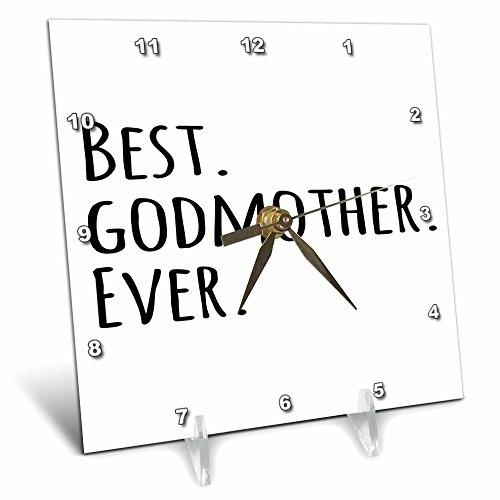 3dRose dc_151526_1 Best Godmother Ever Gifts for God Moth...