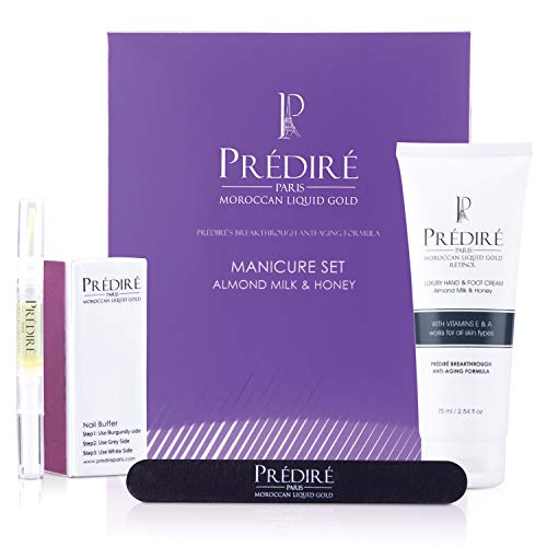 - Luxury Vitamin E Boosting Manicure Kit (Almond Milk and Honey