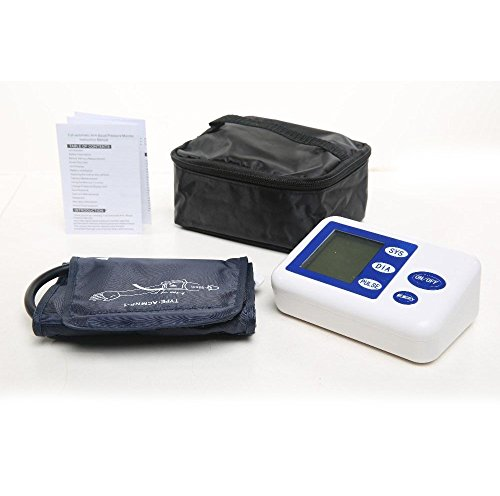 HMIXIAO Upper Arm Digital Blood Pressure Monitor with Cuff 1 Step Automatic Professional Monitors Machine for Home