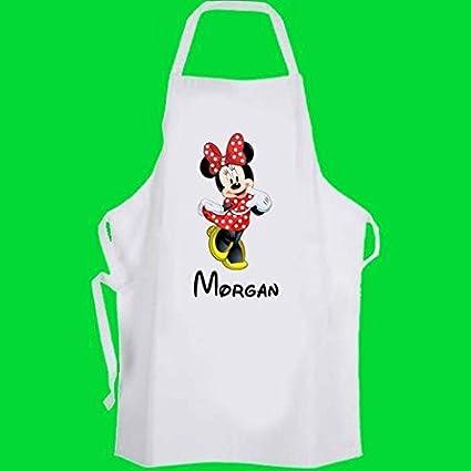 Grembiule Cucina Minnie.Grembiule Disney Da Cucina Personalizzabile Con Logo Di