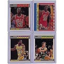 Amazon.com: 1987 / 1988 Fleer Basketball Complete Set 132
