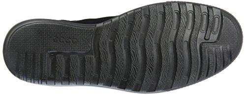 Ennio, Sneakers Basses Homme, Noir (Black), 42 EUEcco