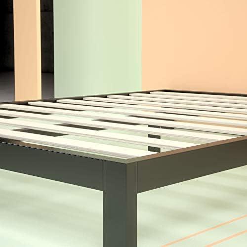 Zinus Arnav Modern Studio 10 Inch Platform 2000 Metal Bed Frame / Mattress Foundation / No Box Spring Needed / Wooden Slat Support / Good Design Award Winner, Queen 41X5XCauDVL