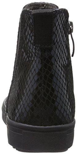 Tamaris 25441, Botas Chelsea para Mujer Negro (BLACK STRUCT. 006)